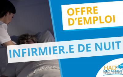 Offre d'emploi : infirmier.e de nuit