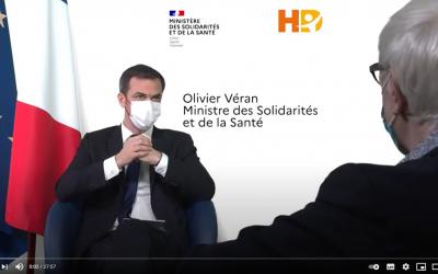 Entretien exclusif Olivier Véran / Dr Elisabeth Hubert (FNEHAD)