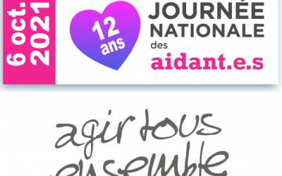 Journée Nationale des Aidants : distribution d'une plaquette